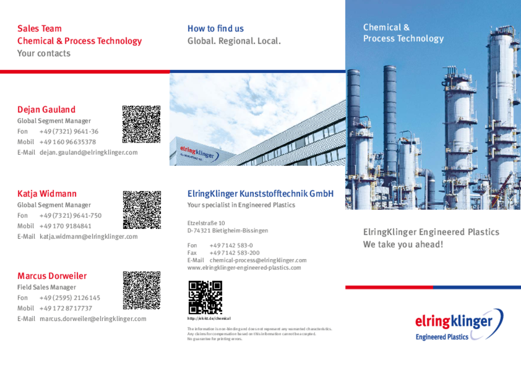 Flyer Chemical and Process Technology