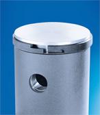 PTFE laminated piston